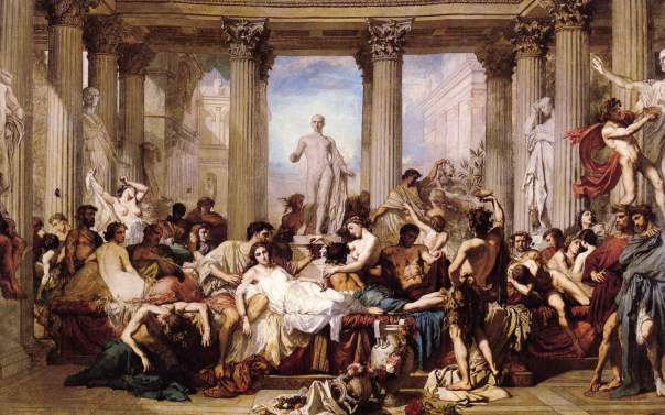 ancient roman sex parties